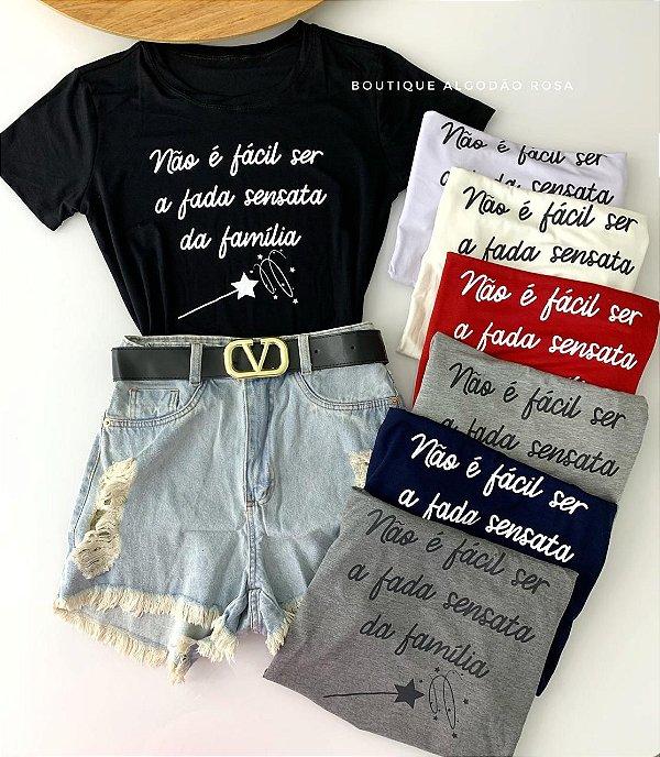 T-shirt Fada Sensata