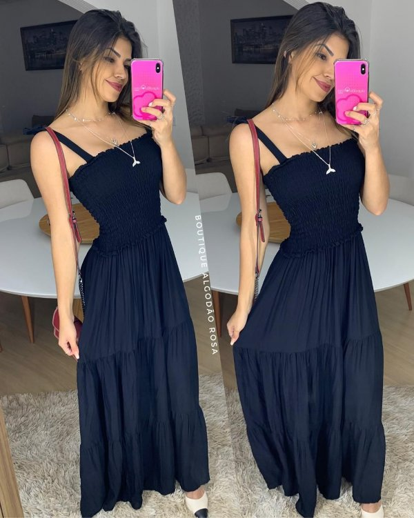 Vestido Vic Preta