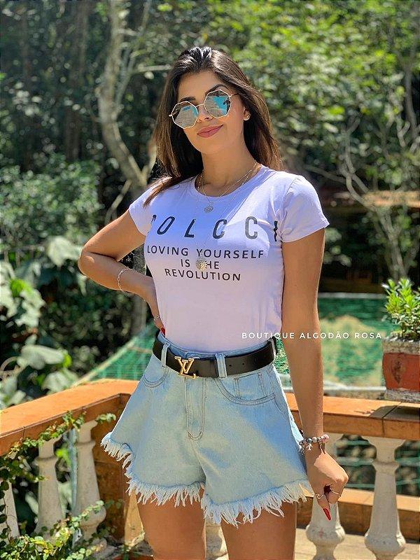 T-shirt Lívia Branca