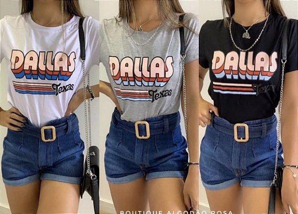 T-shirt Dallas Branca