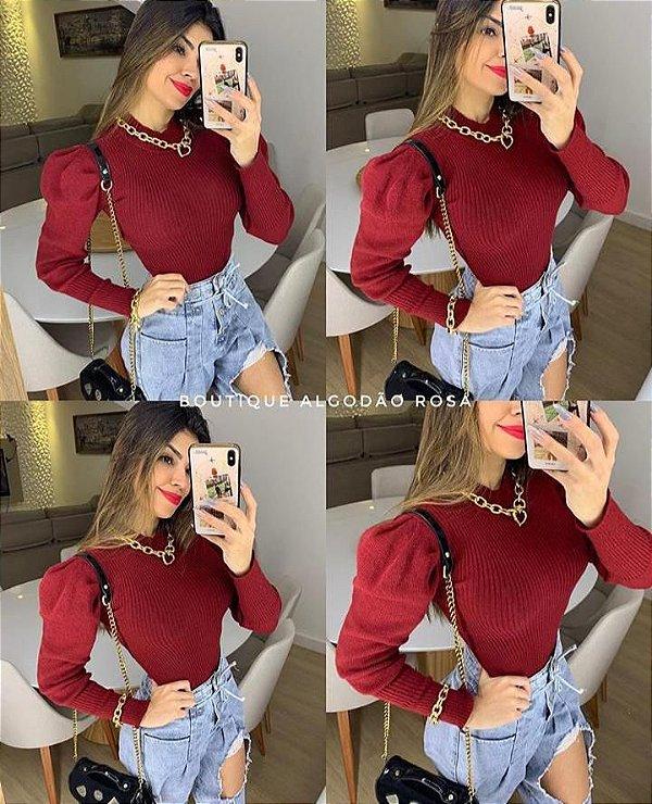 Blusa Princesa vermelha