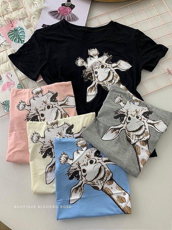 T-shirt Girafa ✨