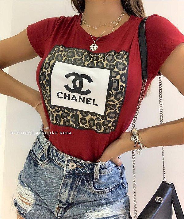 T-shirt Olivia Vermelha