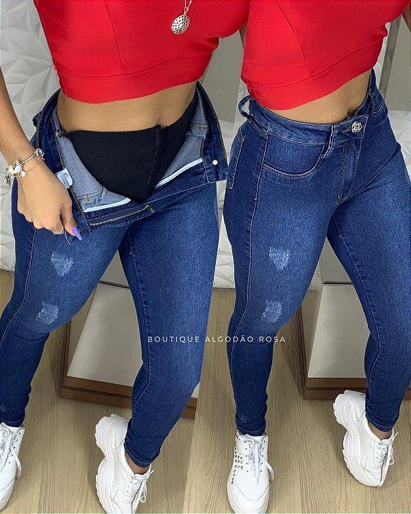 Calça Borges Jeans Cinta