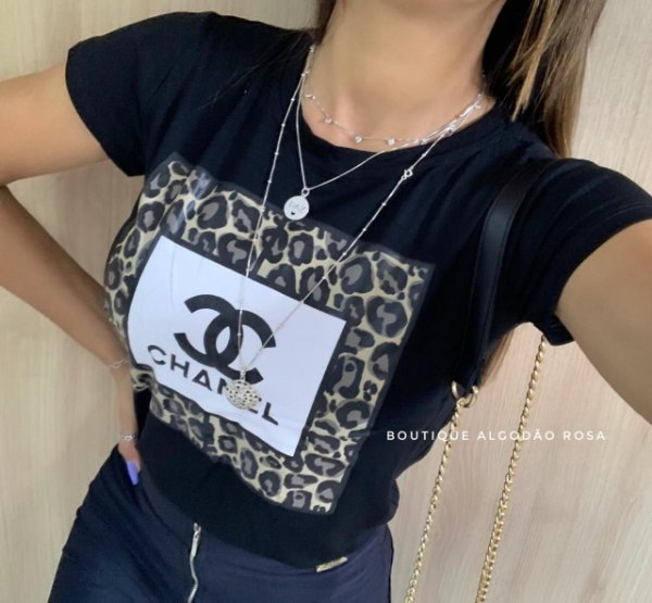 T-shirt Olivia Preta