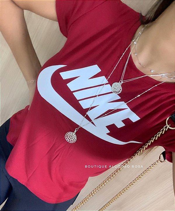 T-shirt Borges Vermelha