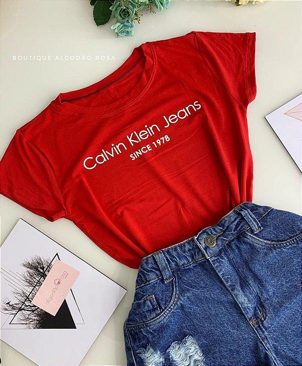 T-shirt 1978 vermelha