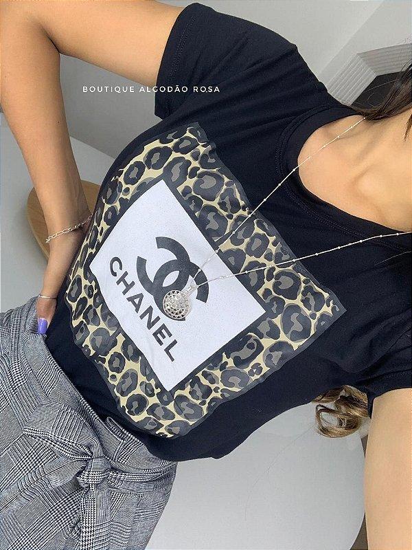 T-shirt Olívia Preta