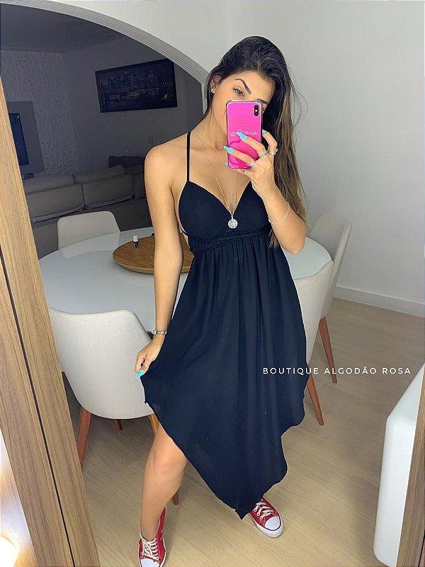 Vestido Jaque Preto