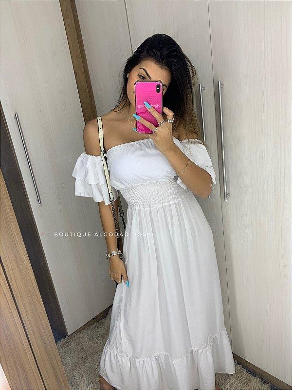 Vestido Ana Beatriz Branco
