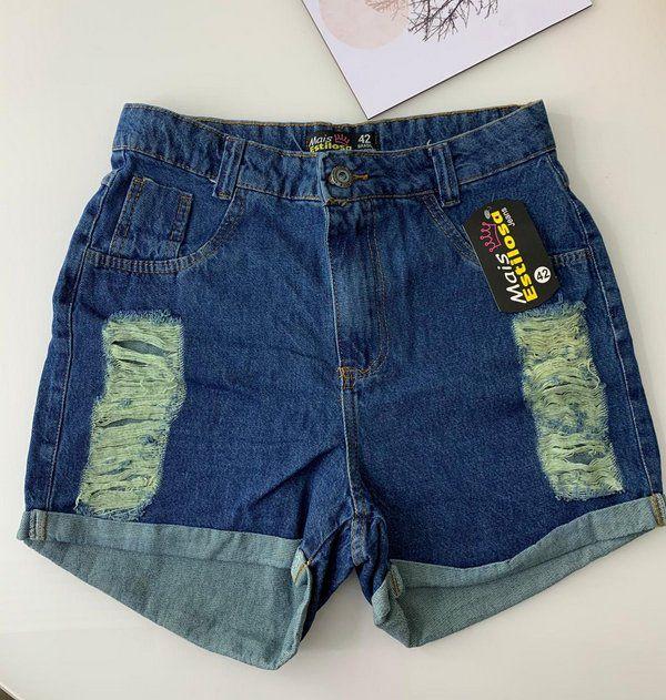 Short Jeans Escuro