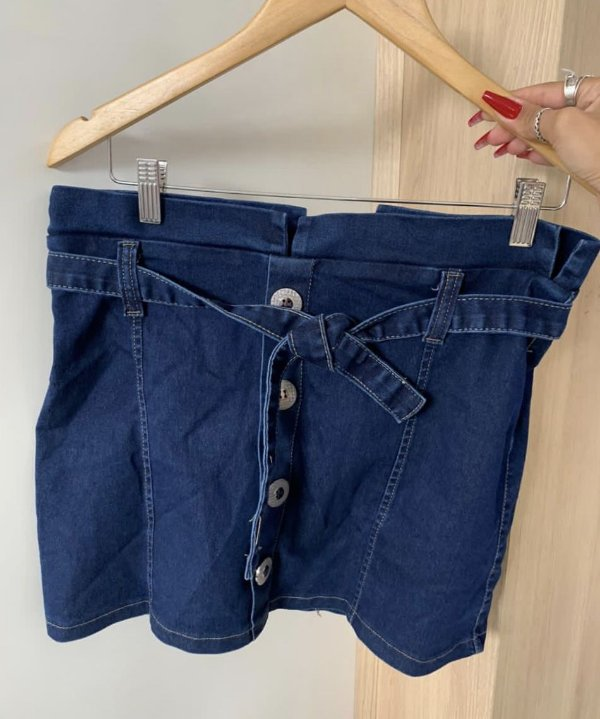 Saia Jeans Poly