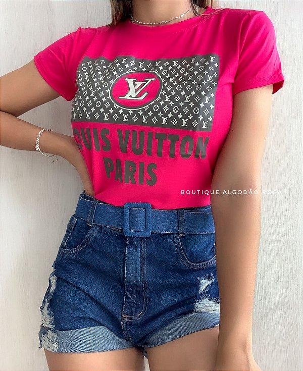 T-shirt Paris Pink