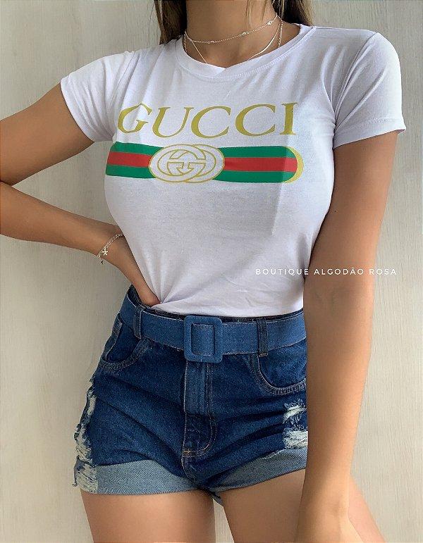 T-shirt Gaby Branca
