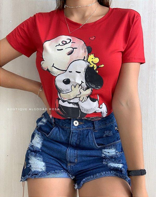 T-shirt Amigos Vermelho