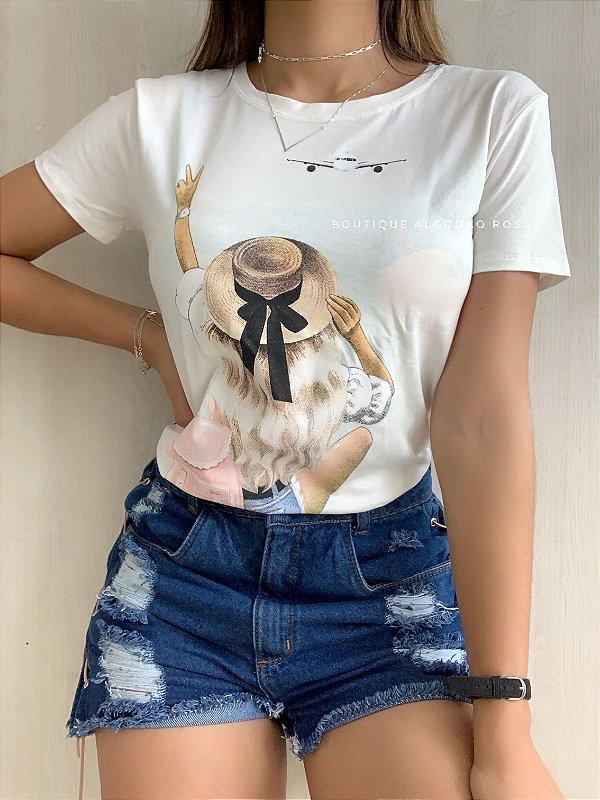 T-shirt Viajante Off