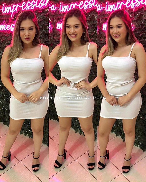 Vestido Reto Branco