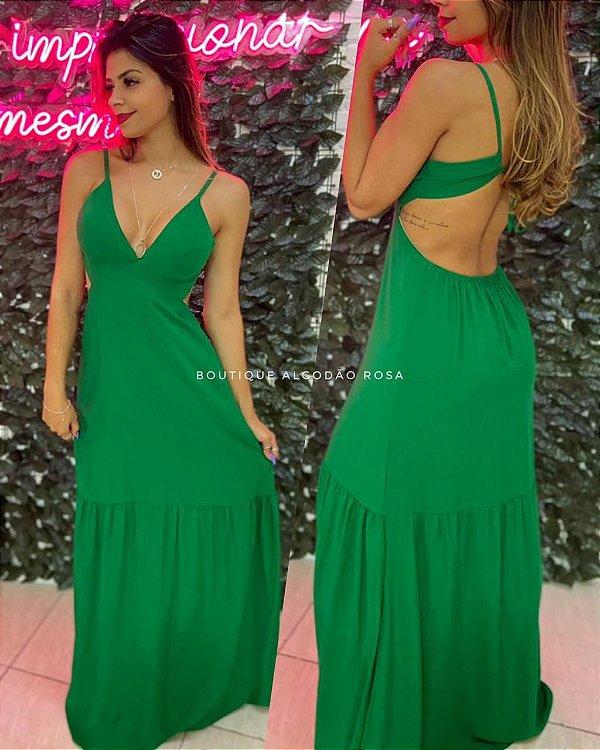 Vestido Liz Verde