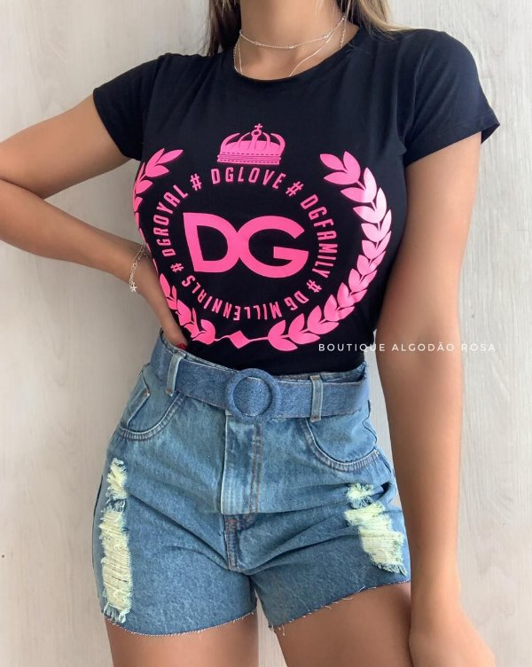 T-shirt Analy Preta