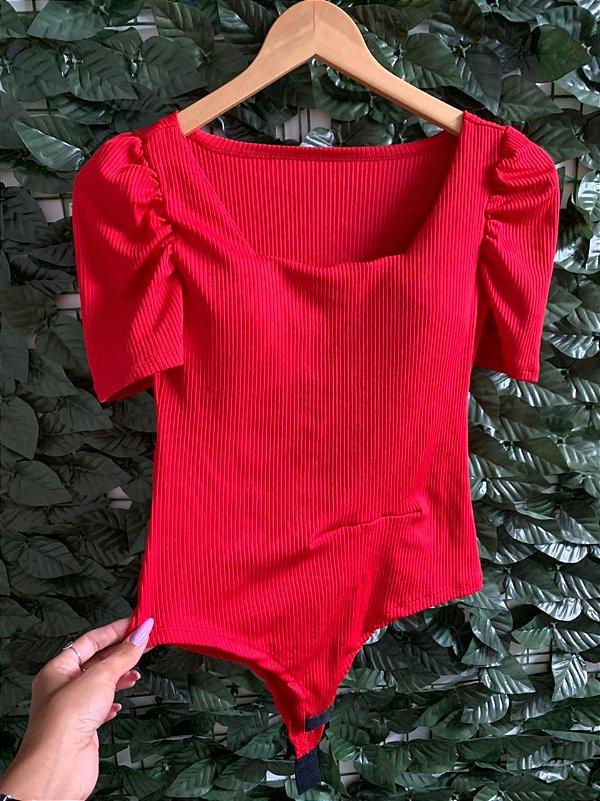 Body Lavínia Vermelho