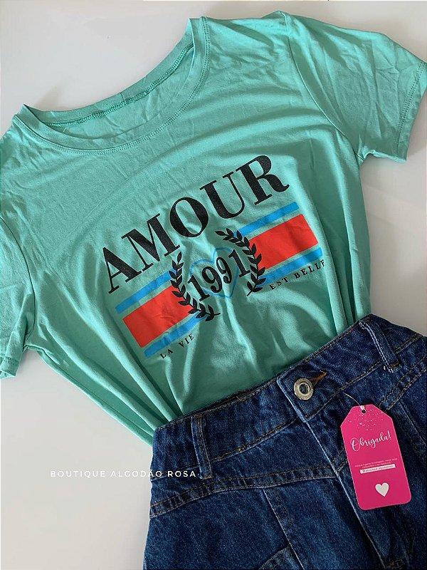 T-shirt Amour Verde