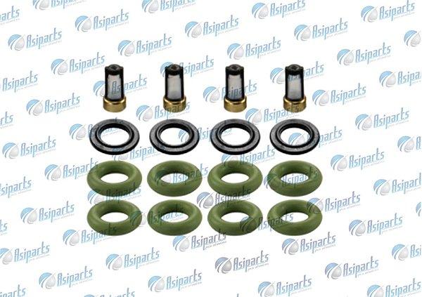 Kit anel vedação dos bicos inj c/filtro Hyundai HB20 1.0/1.6