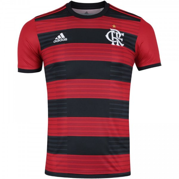 18142436291 Camisa Flamengo I 2018 sn° Torcedor Adidas Masculina - Trilha Esportes