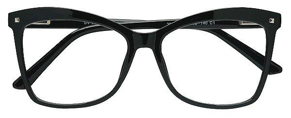 Armação Óculos Receituário AT 2208 Preto