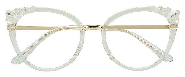 Armação Óculos Receituário AT 5020 Transparente
