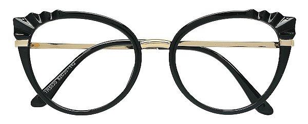 Armação Óculos Receituário AT 5020 Preto
