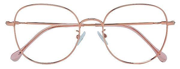 Armação Óculos Receituário AT 8001 Cobre