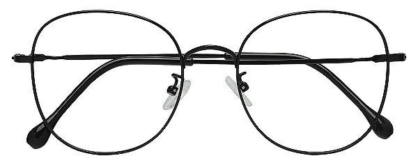 Armação Óculos Receituário AT 8001 Preto