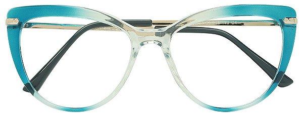 Armação Óculos Receituário AT 2097 Azul Degradê