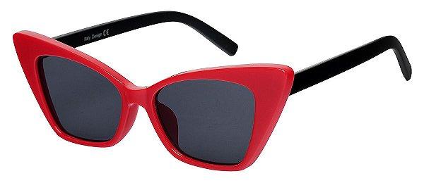 Óculos de Sol Feminino AT 9011 Vermelho