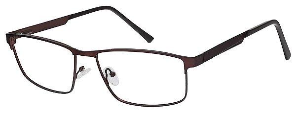 Armação Óculos Receituário AT 8438 Cobre