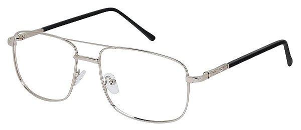 Armação Óculos Receituário AT 68015 Prata