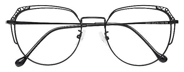 Armação Óculos Receituário AT 9262 Preto