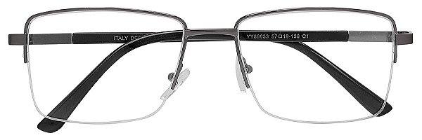 Armação Óculos Receituário AT 88033 Chumbo