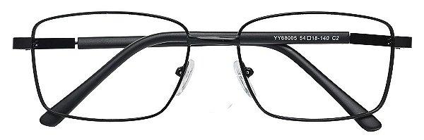 Armação Óculos Receituário AT 68005 Preto