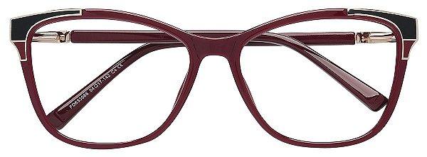 Armação Óculos Receituário AT 633086 Vinho