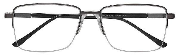 Armação Óculos Receituário AT 88004 Chumbo (Ponte Anatômica)