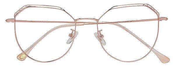 Armação Óculos Receituário AT 19011 Cobre