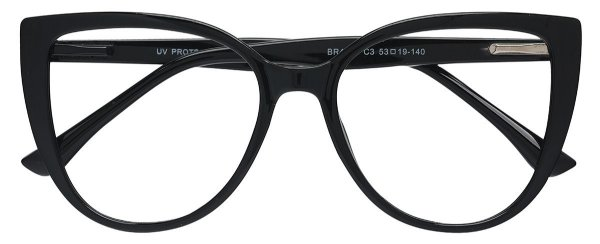 Armação Óculos Receituário AT 4276 Preto