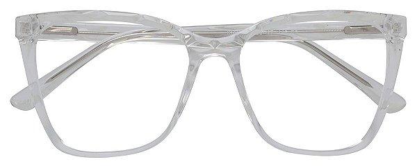 Armação Óculos Receituário AT 66006 Transparente