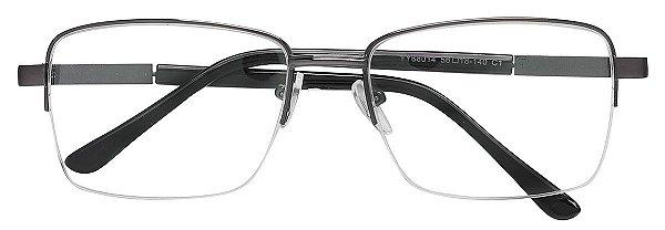 Armação Óculos Receituário AT 68014 Chumbo