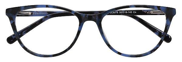 Armação Óculos Receituário AT 9078 Azul