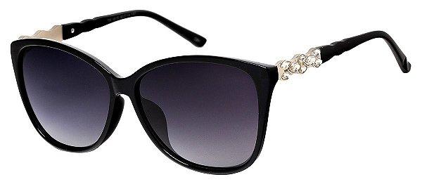 Óculos de Sol Feminino AT 1615 Preto