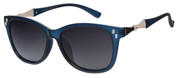Óculos de Sol Feminino AT 1609 Azul Transparente
