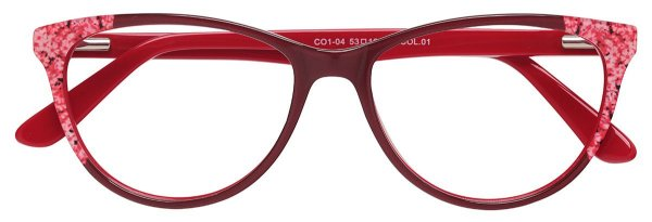 Armação Óculos Receituário AT 04 Vermelho