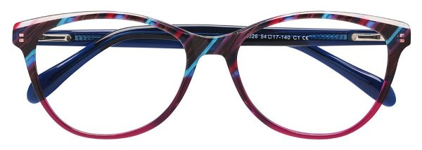 Armação Óculos Receituário AT 2026 Roxo Mesclado